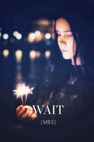 WAIT  M83 