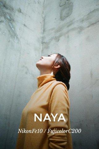 NAYA NikonFe10 / FujicolorC200