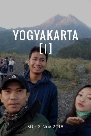 YOGYAKARTA [I] 30 - 2 Nov 2018