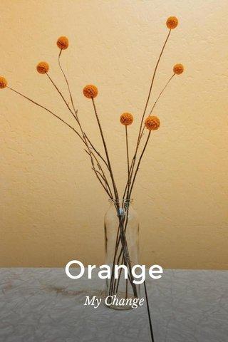 Orange My Change
