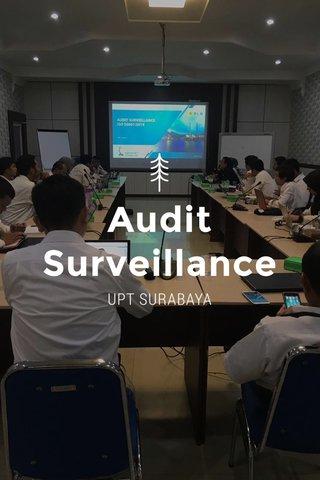 Audit Surveillance UPT SURABAYA