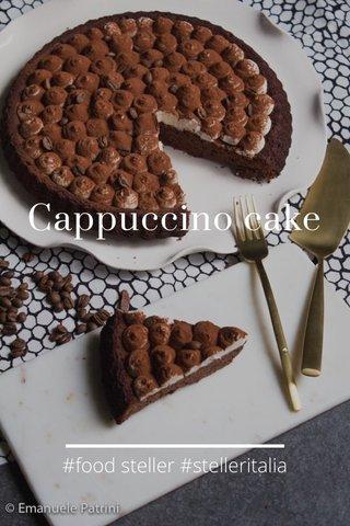 Cappuccino cake #food steller #stelleritalia