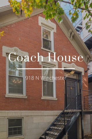 Coach House 918 N Winchester