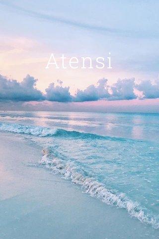 Atensi