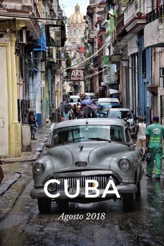 CUBA Agosto 2018