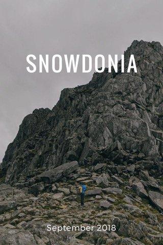 SNOWDONIA September 2018