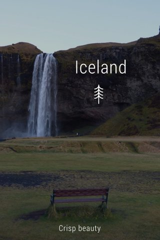 Iceland Crisp beauty