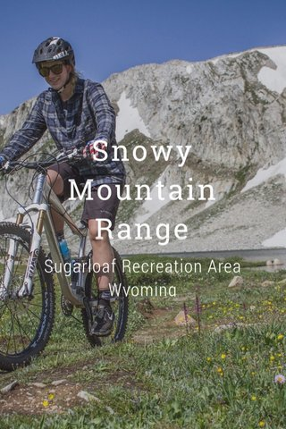 Snowy Mountain Range Sugarloaf Recreation Area Wyoming
