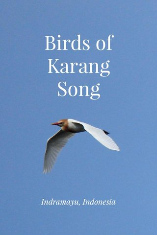 Birds of Karang Song Indramayu, Indonesia