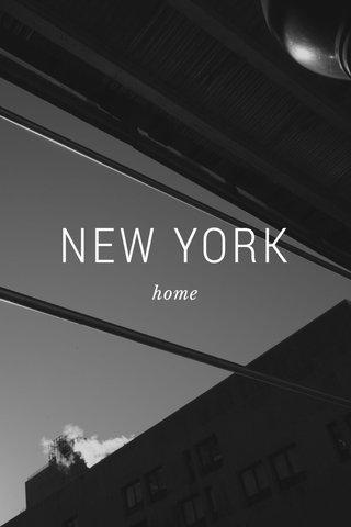 NEW YORK home
