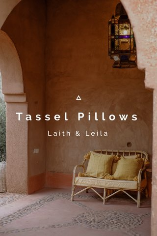 Tassel Pillows Laith & Leila