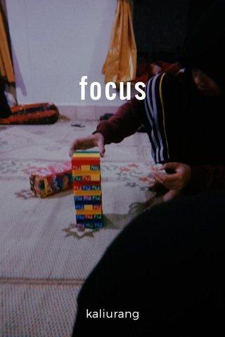 focus kaliurang