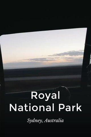 Royal National Park Sydney, Australia