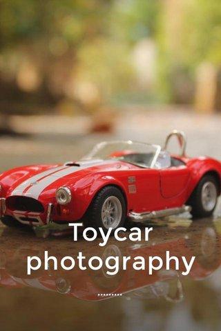 Toycar photography .........