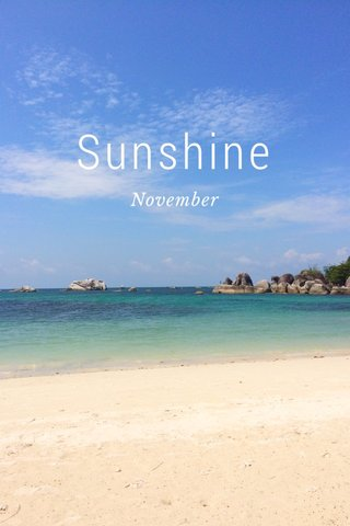 Sunshine November