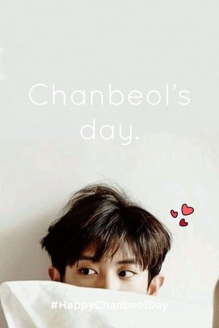Chanbeol's day. #HappyChanbeolDay