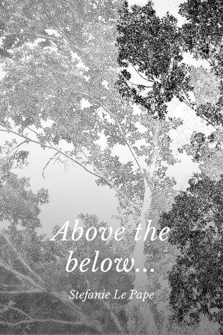 Above the below... Stefanie Le Pape