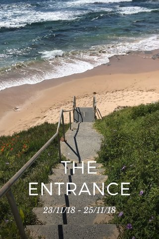 THE ENTRANCE 23/11/18 - 25/11/18