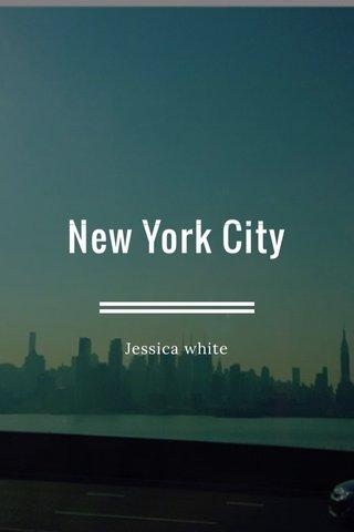 New York City Jessica white