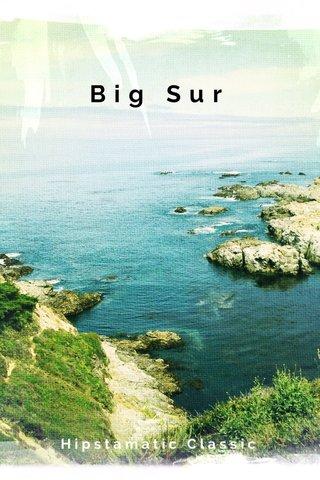 Big Sur Hipstamatic Classic