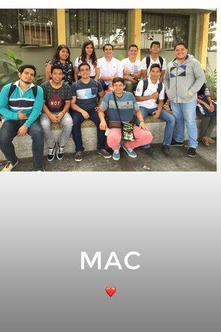MAC ❤️