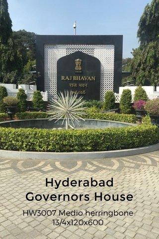 Hyderabad Governors House HW3007 Medio herringbone 13/4x120x600