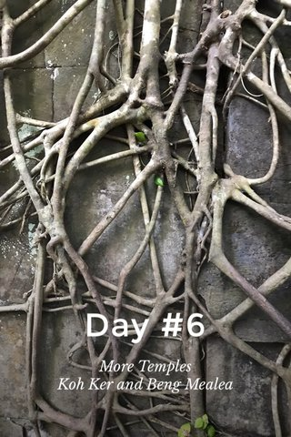 Day #6 More Temples Koh Ker and Beng Mealea