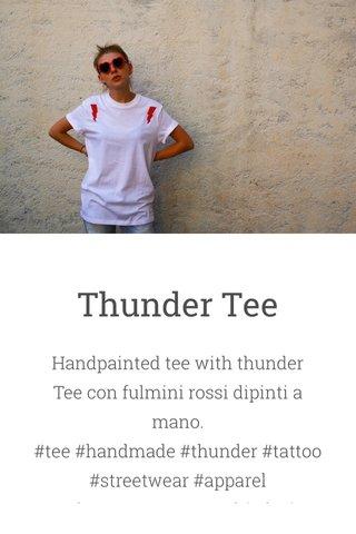 Thunder Tee