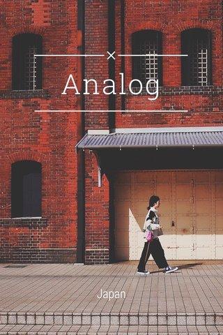 Analog Japan