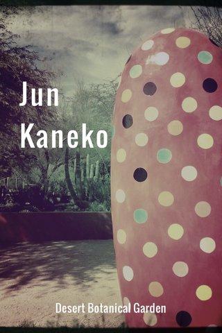 Jun Kaneko Desert Botanical Garden