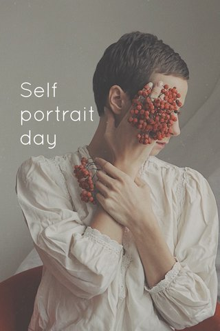 Self portrait day