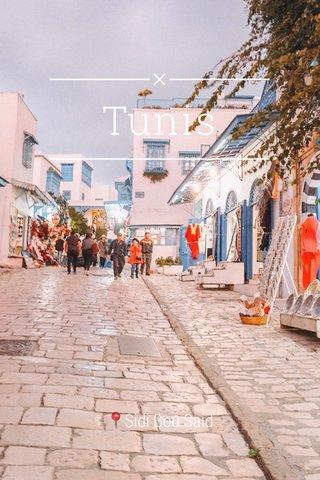Tunis 📍Sidi Bou Said