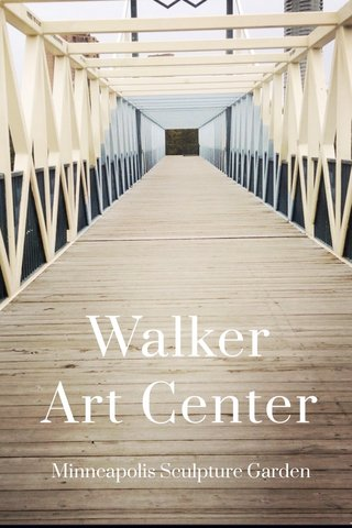 Walker Art Center Minneapolis Sculpture Garden