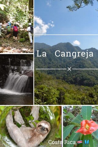 La Cangreja Costa Rica 🇨🇷 🦋