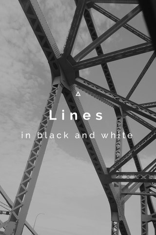 Lines in black and white