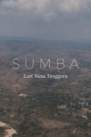 SUMBA East Nusa Tenggara