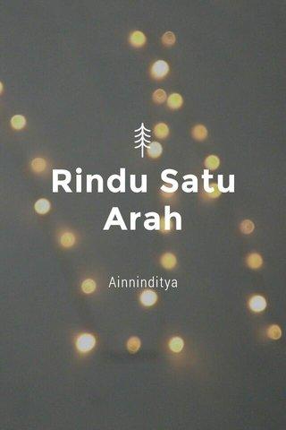 Rindu Satu Arah Ainninditya