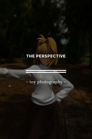 THE PERSPECTIVE - toy photography -
