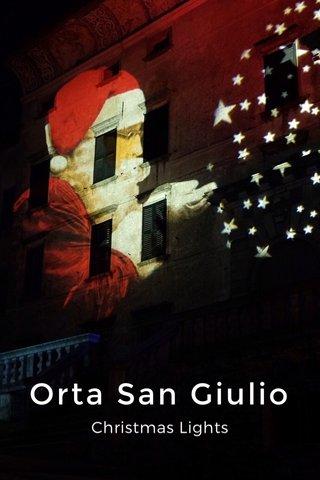 Orta San Giulio Christmas Lights