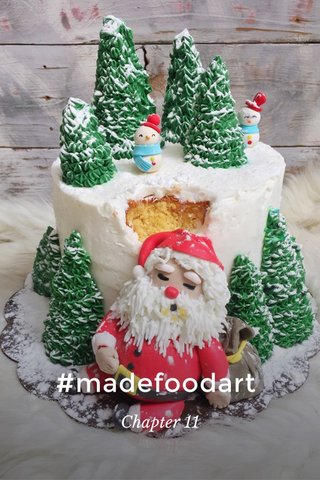 #madefoodart Chapter 11
