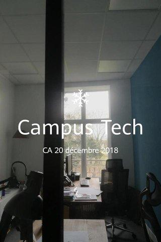 Campus Tech CA 20 décembre 2018