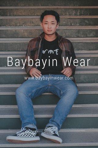 Baybayin Wear www.baybayinwear.com