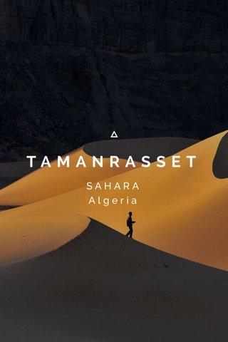 TAMANRASSET SAHARA Algeria