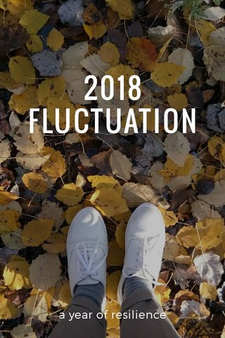 2018 FLUCTUATION a year of resilience