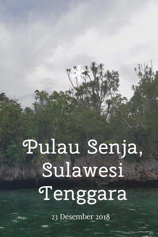 Pulau Senja, Sulawesi Tenggara 23 Desember 2018