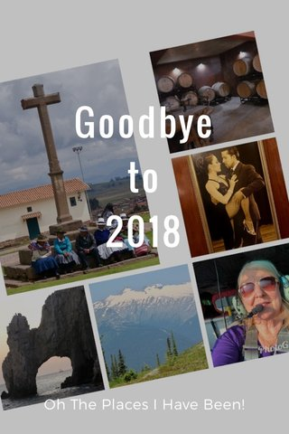 Goodbye to 2018 Oh The Places I Have Been!