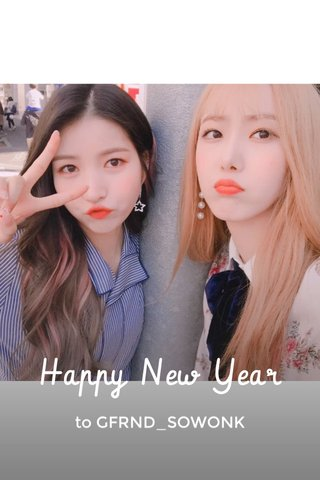 Happy New Year to GFRND_SOWONK