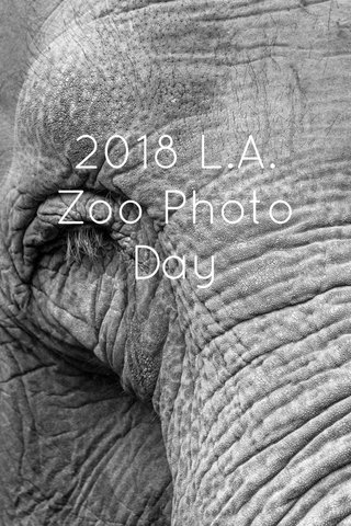 2018 L.A. Zoo Photo Day