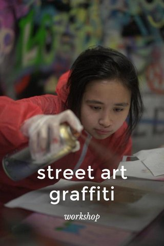 street art graffiti workshop