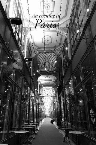 Paris An evening in